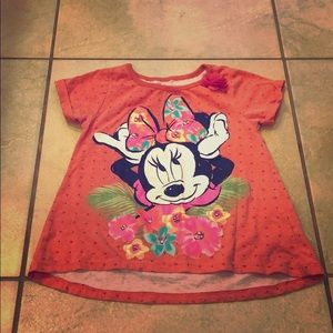 Disney Hawaiian Girls Shirt